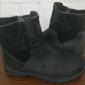 Timberland Ankle boots men's size 8 Black side zip